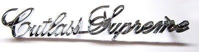 Oldsmobile Emblem Cutlass - The Parts Place Cutlass Supreme Grille Emblem