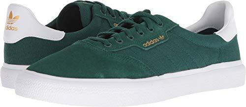 adidas Skateboarding Men's 3MC Collegiate Green/White/Collegiate Green 10 D US