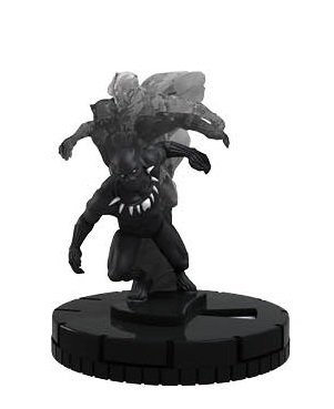 Heroclix Marvel Age of Ultron #045 Black Panther Figure Complete with Card