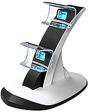 Controlador de Estação de Carregamento PS5 5V 1A Jogo Pega Controlador Carregador Duplo Doca Dual USB Tipo C Estação de Carregamento para Sony PS5 Dualsense Poder De Carregamento