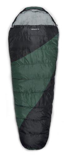Trailside Nomad 4 Mummy Synthetic 0-Degree Sleeping Bag, Green