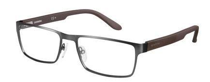 Carrera 6656 Eyeglass Frames CA6656-09T6-5417 - Dark Ruthenium / Matte Black Frame, Lens - Carrera Glasses Prescription