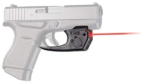 ArmaLaser GLOCK 42 43 TR5 Red Laser Sight with Grip Activation (Best Laser For Glock 43)
