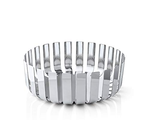 Blomus Gusto Fruit Bowl in Stainless Steel Polished 9.5