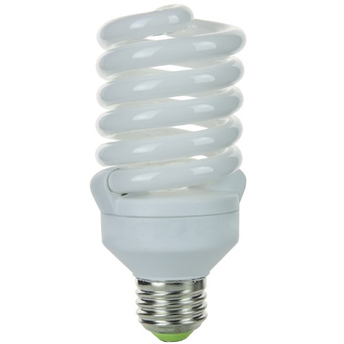 Sunlite SMS26F/50K SMS26F/50K 26-watt Super Mini Spiral Energy Saving Medium Base CFL Light Bulb, Super -