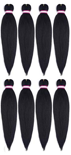 (Pre-Stretched Professional Braiding Hair 26