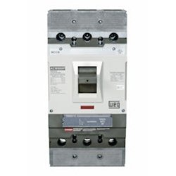 Molded Case Circuit Breaker, 3 Poles, Adjustable-Thermal, Fixed-Magnetic, 800A, UL489 Listed, 65kA Interrupting Capacity, AC