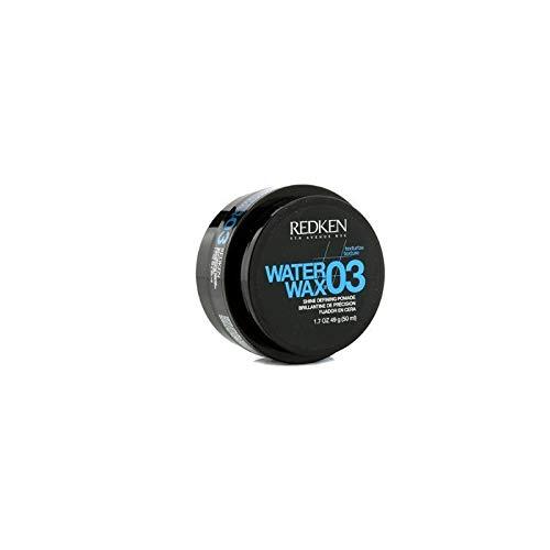 Shine Water - Redken 03 Water Wax Shine Defining Pomade, 1.7 oz (Pack of 2)