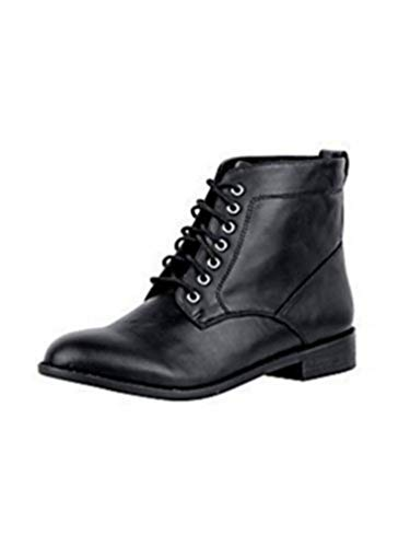Botines Connections Mujer Negro Botas De Best 1gqw7R