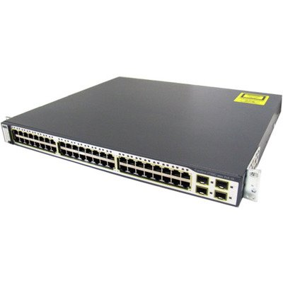 Cisco WS-C3750G-48TS-E Catalyst 3750G series 48 Port Stackable Gigabit Ethernet Switch