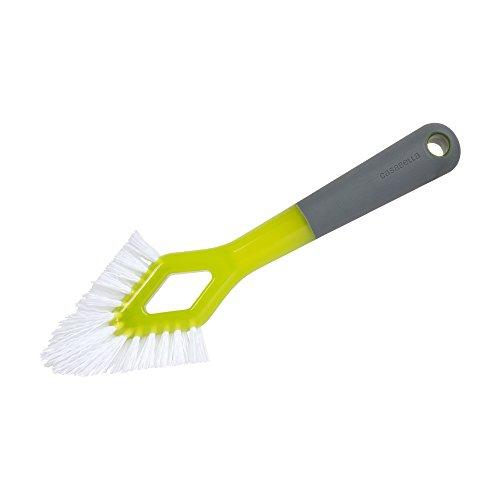 Casabella Smart Scrub Heavy Duty Grout Brush-Grey/Green