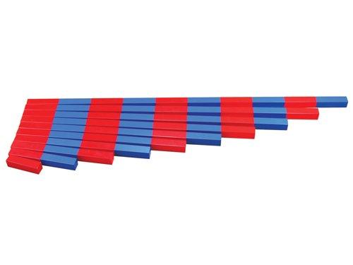 Montessori Numerical Rods