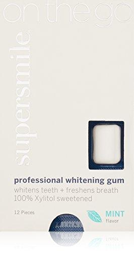 Supersmile Whitening Gum, 12 Count