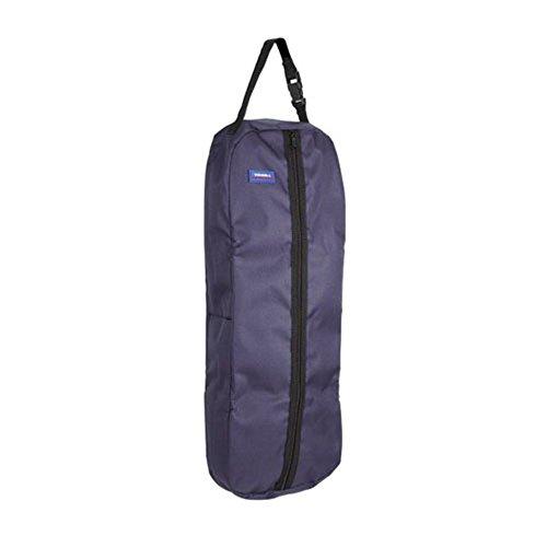 Tough 1 Tough-1 Nylon/Poly Bridle/Halter Bag, black