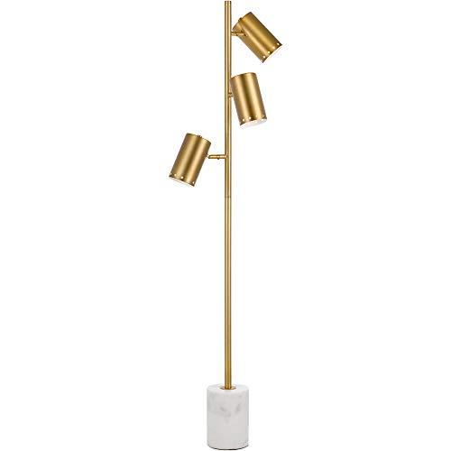 Af Lighting Modern Floor Lamp - AF Lighting 9145-FL Derry Three Floor Lamp Lighting Gold