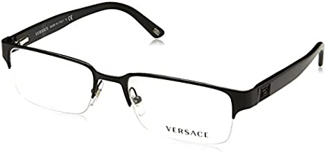 7e5f2967f013 Versace VE1184 Eyeglasses-1261 Matte Black-53mm