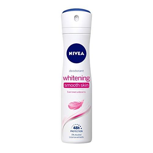 Nivea Whitening Smooth Skin Deodorant, 150ml (Nivea Whitening Underarm)