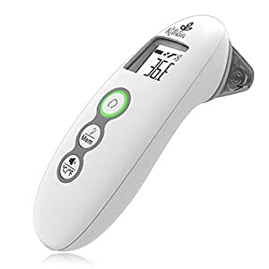 Ritalia Forehead and Ear Infrared Digital Baby Thermometer. FDA/CE Approved - Clinical Accuracy Suitable for Baby, Infant, Toddler and Adults