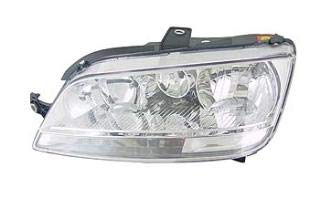 Left Passenger Side Headlamp Front Head Light (With Clear Indicator With Fog lamp):
