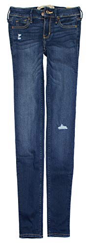 Hollister Women's Classic Stretch Low-Rise Skinny Jeans HOW-3.1 (15-R, 0200-028)