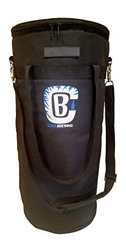 - Home brew Keg Cooler. Beer Cooler for 5 gallon Keg, Corny and Cornelius Kegs from Cool Brewing. CoolBrewCorny