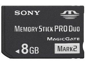 8GB 8 GB Memory Stick / Card PRO DUO for SONY MiniDV DCR ...