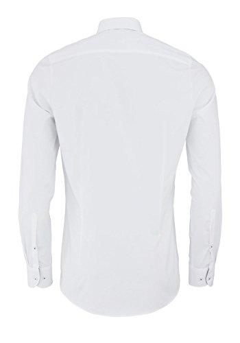 OLYMP Level Five body fit Hemd extra langer Arm weiß AL 69