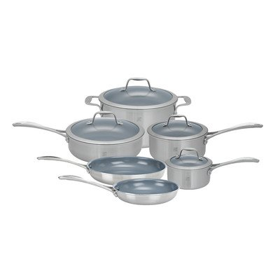 Zwilling JA Henckels Spirit Thermolon Spirit 10 pc. Set (Henkels Stainless Steel Cookware compare prices)