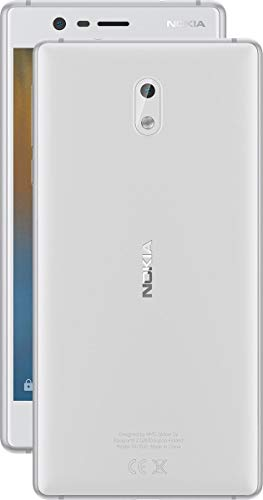 Nokia 3 - Android 9.0 Pie - 16 GB - Unlocked Smartphone (AT&T/T-Mobile/MetroPCS/Cricket/Mint) - 5.0 HD Screen - White