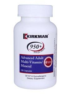 Kirkman Advanced Adult Multi-Vitamin Mineral - 180 Capsules