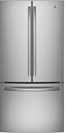 Exceptional GE GWE19JSLSS 33u0026quot; Inch Counter Depth French Door Refrigerator With  18.6 Cu. Ft.