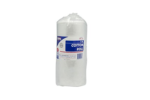 - Dukal CR1-12 Cotton Roll, 1 lb. (Pack of 12)