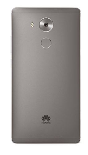 Huawei Mate 8 NXT-L29 32GB Dual SIM Factory Unlocked GSM Smartphone - International Version, No Warranty (Grey)