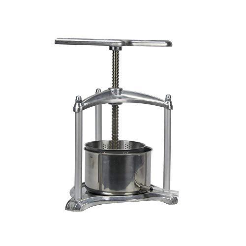 EJWOX 0.8 Gallon Aluminum Soft Fruit Wine Press, Cheese Press Cherries Press Berries Press Herbal Press Tincture Press by EJWOX (Image #1)