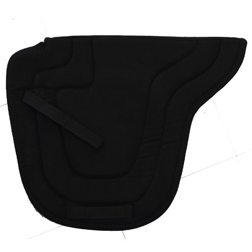 Black Intrepid International Lane Fox Cutback Saddle Pad