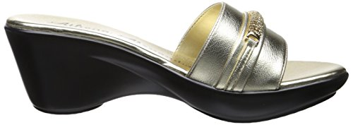 Athena Alexander Womens Maiden Slide Sandal Gold ePIQXn