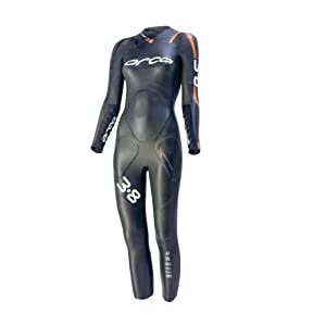 ORCA Women's 3.8mm Full Sleeve Wetsuit, Black, Large