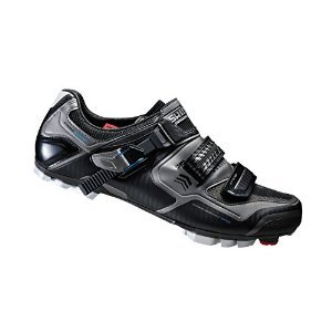 Shimano 2015 Men's XC Racing Performance Mountain Bike Shoes - WIDE - SHXC61LE (Black - 41.0)