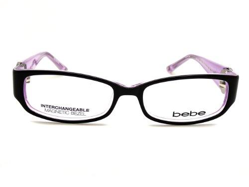 Rose BEBE 607 de Marron lunettes vue 50MM BB5043 Monture gwqrAwOR40