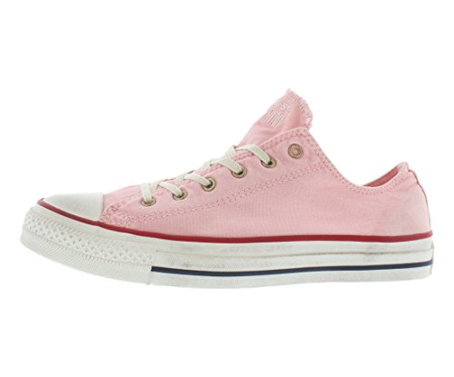 Converse Chuck Taylor Ox Washed Canvas Shoes Size Mallow Pink