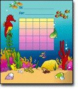 16 Pack CARSON DELLOSA MINI INCENTIVE CHARTS SEA LIFE 36PK by Carson-Dellosa