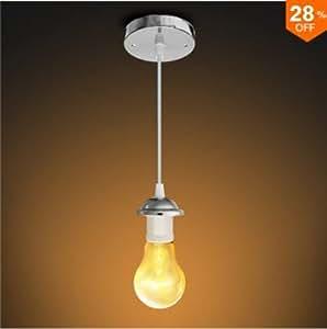 Amazon.com: Hitommy E27 - Lámpara de techo LED con soporte ...