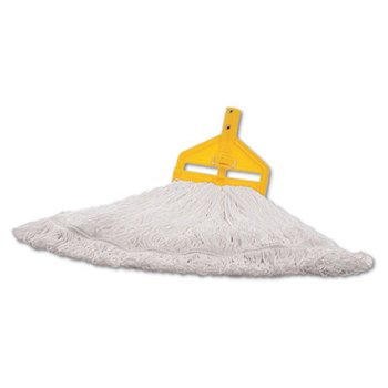 Rubbermaid Commercial Nylon Finish Mop Heads by Stock PKG