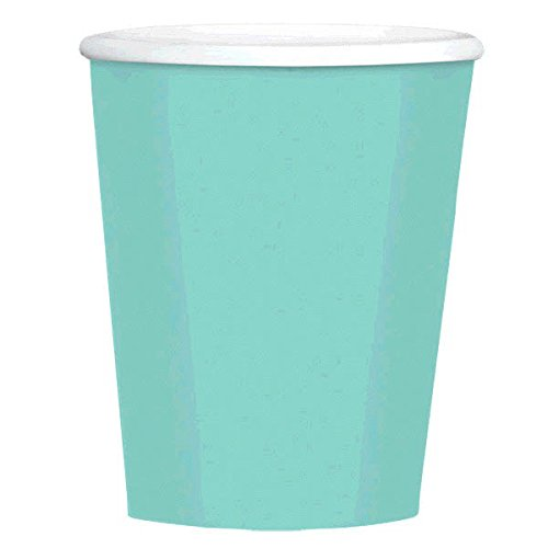 Amscan Disposable Plain Coffee Cups Party Tableware (480 Piece)
