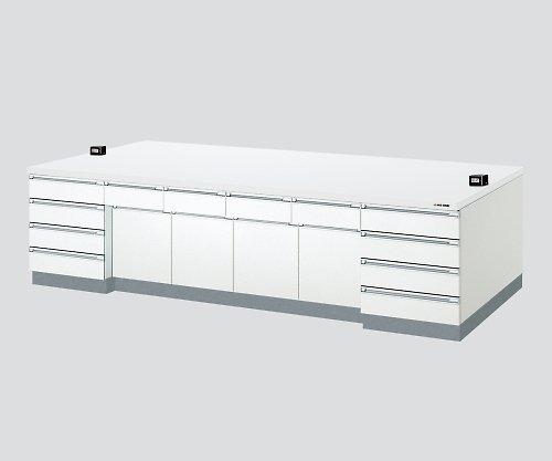 アズワン3-3851-03中央実験台木製ホワイトタイプケコミ型3000×1200×800 B07BD2XNQB
