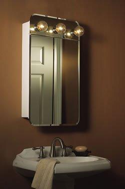 Jensen 1402 Lafayette Single-Door Surface Mounted Medicine Cabinet