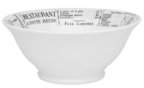 Pillivuyt Brasserie Footed Bowl, 2.5 Quart