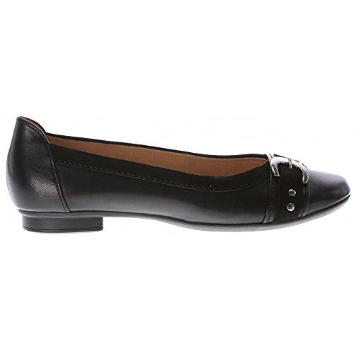 Gabor Shoes Gabor Casual, Bailarinas para Mujer Negro (27 Schwarz)
