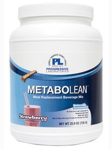 Labs Progressive Blend Amino (Progressive Labs - MetaboLean Strawberry 25.9 Oz)