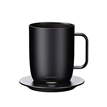 Image of Coffee Mugs Ember Temperature Control Smart Mug, 14 oz, 1-hr Battery Life, Black - App Controlled Heated Coffee Mug